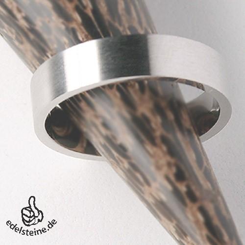 Schmaler Edelstahl-Ring ER106 25-er Pack