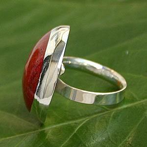 Koralle Ring 1