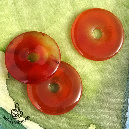 Carneol Donut A-Qualität 30mm