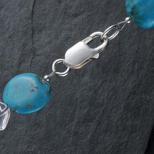 Thin Snap Hook, Silver, big ca. 16 mm
