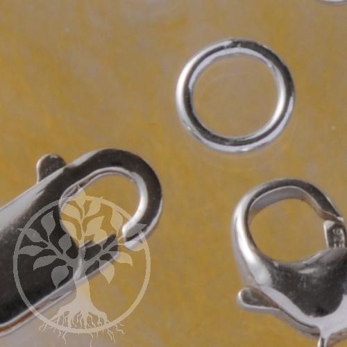Bindering geschlossen 6.0*0.9 mm Sterlingsilber