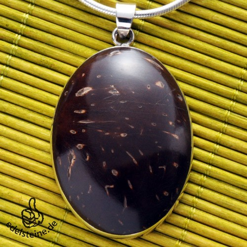 Coconut Pendnat with Silver