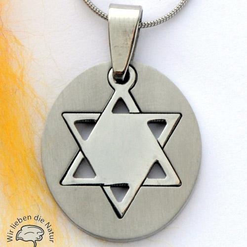 Pentagramm-Anhänger aus Edelstahl