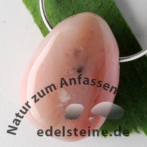 Pink Opal Anhänger BIG