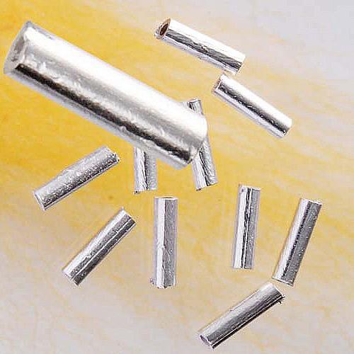 Silber-Röhrchen, 8 x 2 mm, 925er Silber