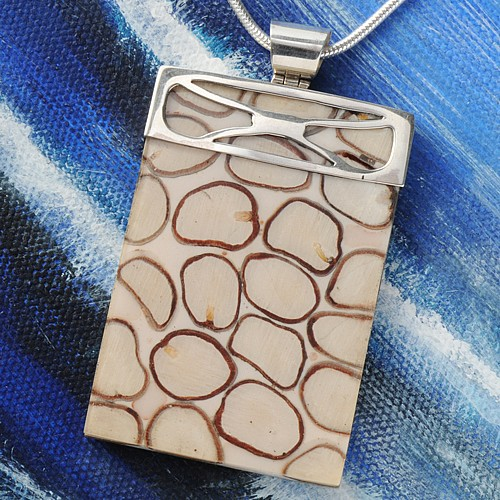 Pendant of Tamarinds, silver
