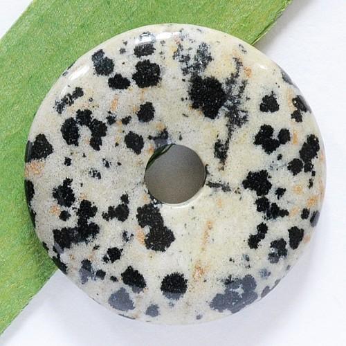 Dalmatiner Jaspis Donut A Qualität 30mm