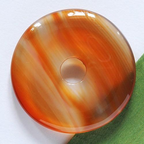 Carneol (Karneol) Donut  AA-Qualität 30mm