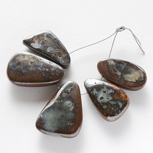 Perlen-Set Opal