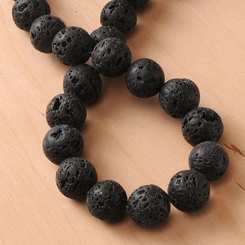 Lava Gemstone Beads