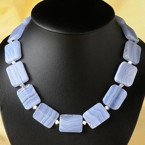 Designer Necklace Chalcedon