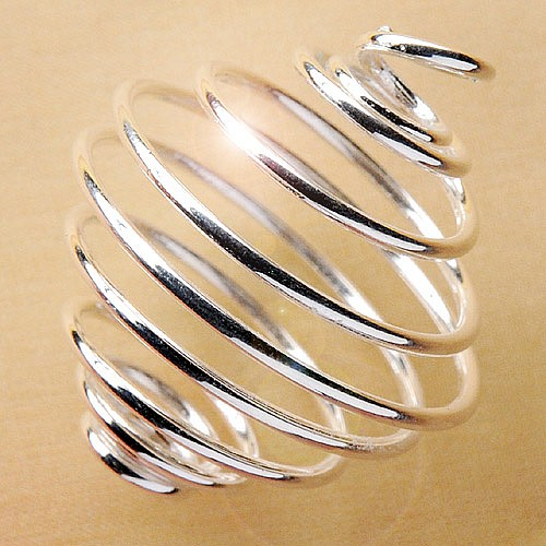 Silver Coil 3 pieces 20mm