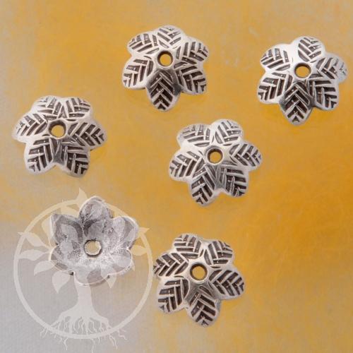 Bead Cap Silber925 Tannen Perlenkappe