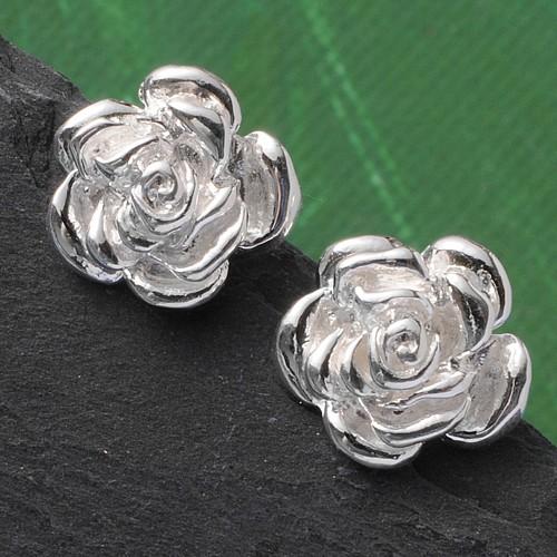 Ohrstecker Kleine Rose Silber 925