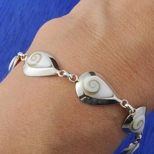 Shiva Bracelet Silver Drops