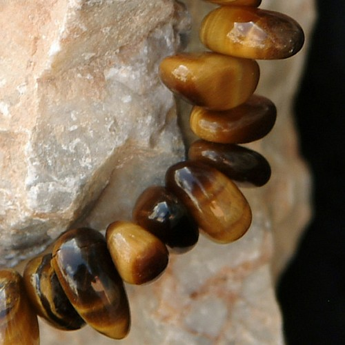 Tiger`s Eye Bead Bracelet Splitter BIG AA