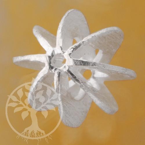 Silver Bead Spoke 10mm