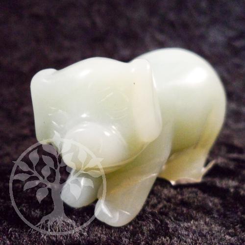 Schwein Chinajade Steinfigur