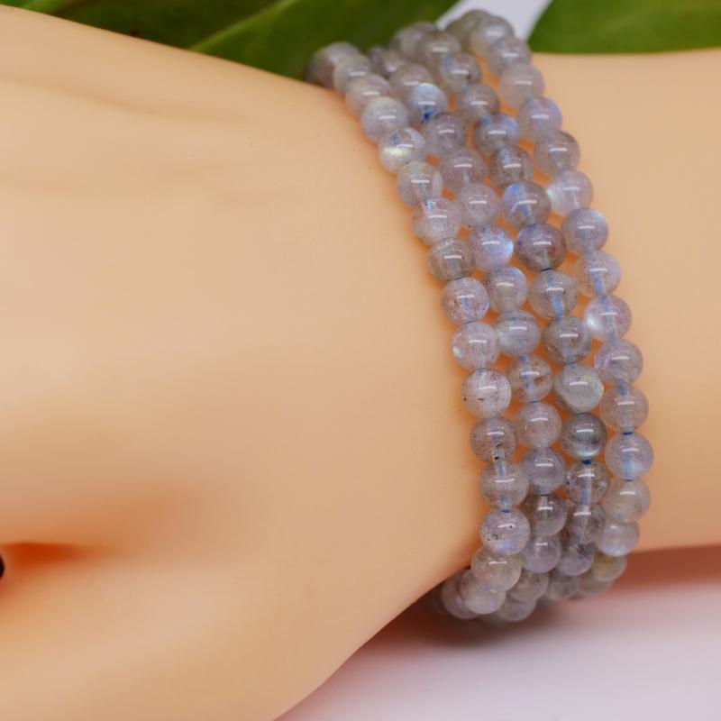 Kugel-Armband Prehnit 6 mm
