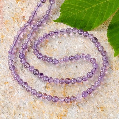 Amethyste Gemstone Ball Beads