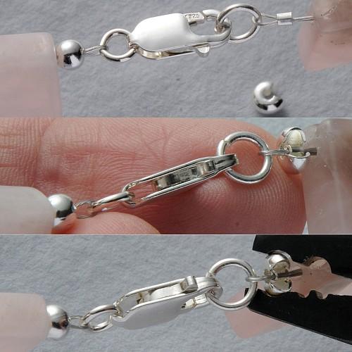 Kaschierperle offen 3mm Silber925 glänzend