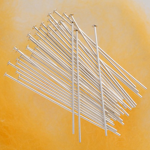 Headpin strong 38*0.6mm Silver 925