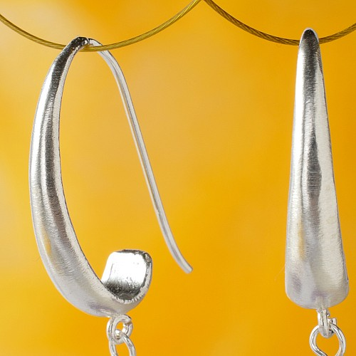 Ohrhaken Stabil  Echt Silber