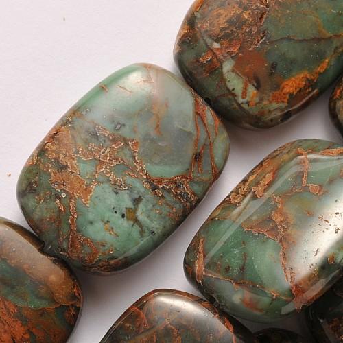 Opal Gruen Schmuckperlen