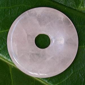Rosenquarz Donut 30mm
