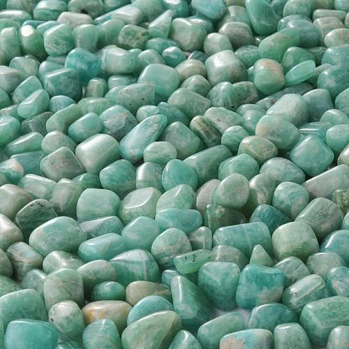 Amazonit Trommelstein Small Trommelsteine 250 Gramm