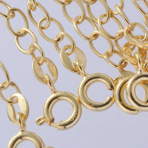 Extended Chain Gold-Plated