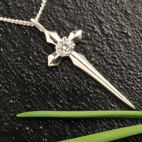 Silberkreuz Bergkristall