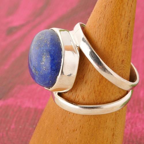 Lapislazuli Silber Ring