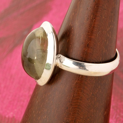 Smoke Quartz Silverring