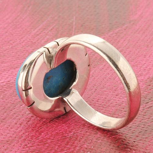 Tuerkis Silber Ring
