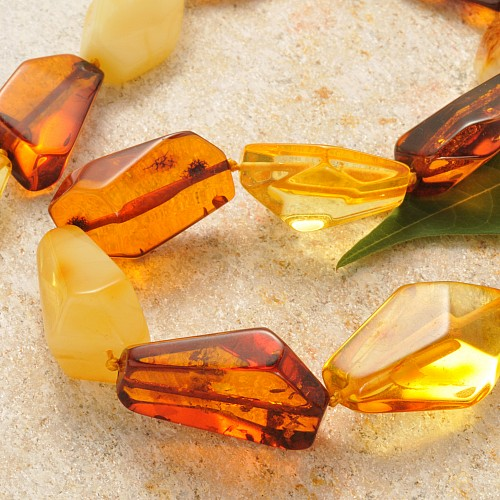 Amber Necklace Nugget