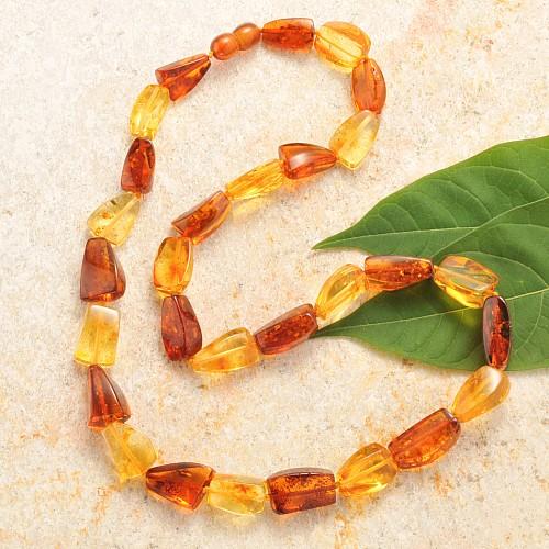Amber Necklace Multicolor
