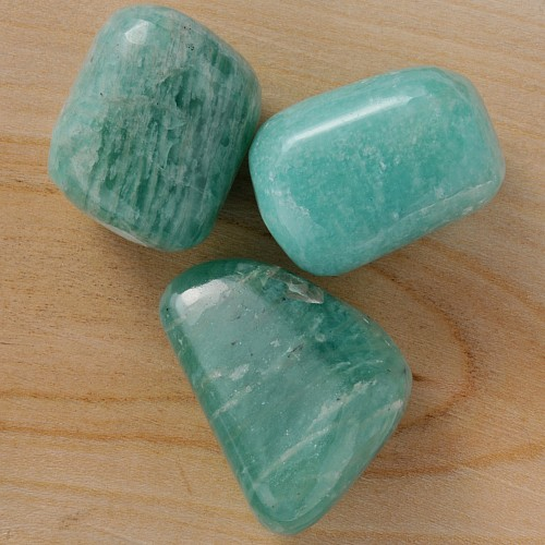Amazonite Tumbled Stones M 250g
