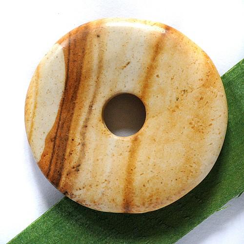 Landschaftsjaspis Stein Donut