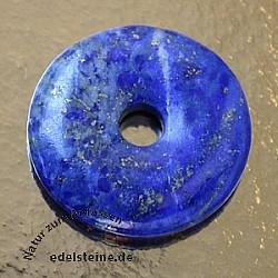 Lapislazuli Donut Anhänger A-Qualität 30mm