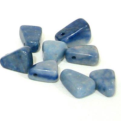 Blauquarz Trommelstein 1 kg