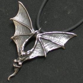 Fledermaus aus Silber TK31
