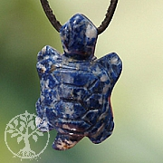 Lapislazuli Schildkröten-Anhänger
