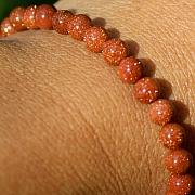 Goldstone bracelet  5-6mm
