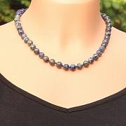 Lapislazuli Halskette 43-45cm/8mm Perlen
