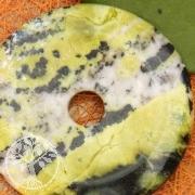 Chita Jade Donut 60mm pendant