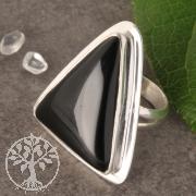 Silberring Onyx Nr003