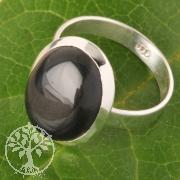 Onyx Silberring Nr008