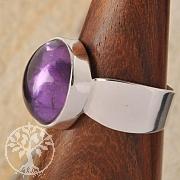 Amethyste Silver Ring