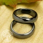 Hämatit Ring rund 6mm 100 Stück